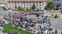 Cihanbeyli'de Terör Protesto Edildi