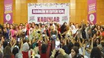 HDP Kadın Seçim Bildirgesi'ni açıkladı