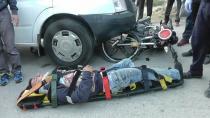 Kulu'da Minibüsle Motosiklet Çarpıştı: 1 Yaralı