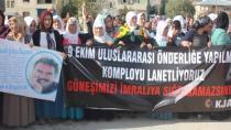 Birçok merkezde komplo protestosu
