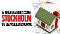 Stockholm'de ev sorununa çok ilginç çözüm