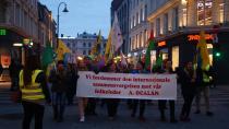 Osla'da komplo yürüyüşü
