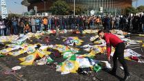 Katliamda hayatını kaybedenler için Ankara'da anma ve uğurlama