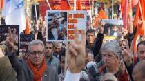 Paris'te 20 bin kişi Ankara katliamını lanetledi