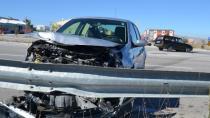 Kulu'da Trafik Kazası: İki Yaralı
