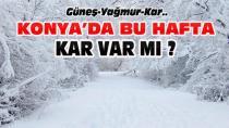 Konya'da Bu Hafta Kar Yağışı var mı?