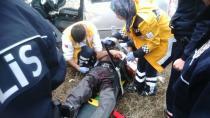 Kulu'da Kaza 2 Yaralı - Kulu Haber
