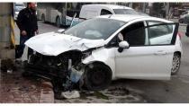 Konya'da trafik kazası: 1 yaralı - Konya Haber