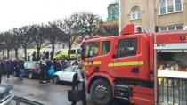 İsveç'te bir okulun bahçesinde bomba patladı