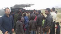 Karacadağ'da Hayırsever Vatandaşlardan Suriye'lilere Yardım