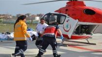 Kulu'da Otomobil Takla Attı : 2 Yaralı