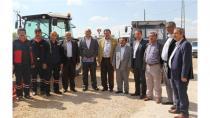 Cihanbeyli'de Yangın Söndürme Tankerleri Dağıtıldı