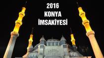 Konya ili için Ramazan 2016 İmsakiyesi