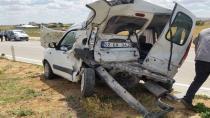 Cihanbeyli'de Trafik Kazası: 2 Yaralı