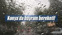 Konya'da bayram bereketi!
