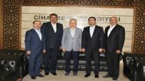 Bakan Yardımcısı Mehmet Ceylan'dan Başkan Kale'ye ziyaret