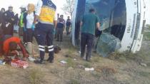 Cihanbeyli'de Kaza: 6'sı Ağır 26 Yaralı