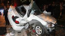 Konya'daki kazada ağır yaralanan sürücü yaşamını yitirdi