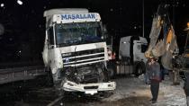 Konya'da zincirleme kaza: 9 araç birbirine girdi