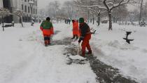 Konya'da kar kalınlığı ölçüldü! Yağışlar devam edecek mi?