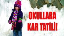 Konya'da eğitime kar engeli.