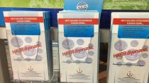Konya'da 'Sigaraya Hayır' yazılı broşürler toplatıldı