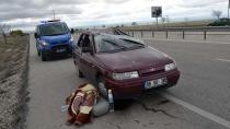Ömeranlı'da Trafik Kazası : 5 Yaralı
