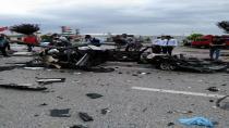 Cihanbeyli'de Feci Trafik Kazası