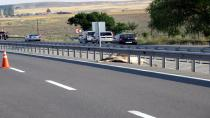 Ankara-Konya yolunda yolcu otobüsü devrildi