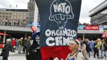 İsveç'te NATO tatbikatı protesto ediliyor