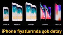 iPhone 8 ve iPhone x'in fiyatları belli oldu! iPhone 7'nin fiyatları ise..