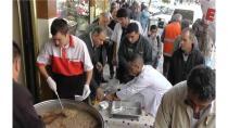 Kulu'da 2 Bin Kişiye Aşure İkram Edildi