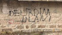 Yeniceoba'da Duvar Yazıları