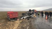 Karacadağ'da Trafik Kazası : 1 Ölü