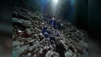 Japonya'nın göktaşına iniş yapan uzay aracından fotoğraflar