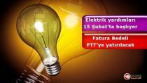 Elektrik Yardımları Başlıyor