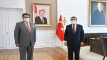 Başkan Kale'den Sağlık Bakanı Koca'ya Ziyaret